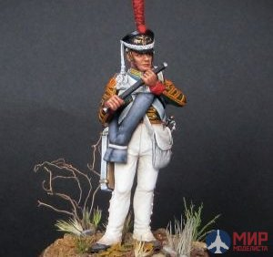CHM-54056(M) of the Chronos Miniatures 54 mm Flutist guards infantry regiments, Russia 1812-15гг. Metal