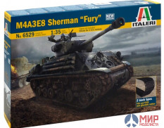 "6529 Italeri 1/35 Танк M4A3E8 Sherman ""FURY"""