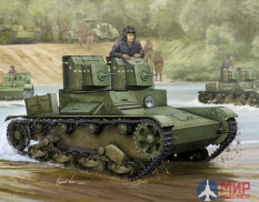 82494 Hobby Boss 1/35 Советский легкий танк Soviet T-26 Light Infantry Tank Mod1931
