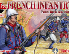 RB72027 Red Box 1/72 French Infantry