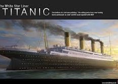 14215 Academy 1/400 Корабль Titanic Multi Colour Parts