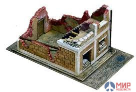 6161 Italeri 1/72 Руины Wrecked House