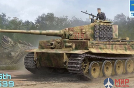 09539 Trumpeter   Игрушка  танк  Pz.Kpfw.VI Ausf.E Sd.Kfz.181 Tiger I (Medium Production) w/ Zimmeri