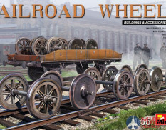 35607 MiniArt RAILROAD WHEELS 1/35