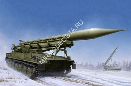 09545 Trumpeter ракетный комплекс  2P16 Launcher with Missile of 2k6 Luna (FROG-5)  (1:35
