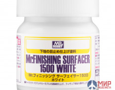 SF-291 Mr.Hobby грунтовка MR.FINISHING SURFACER 1500 WHITE 40мл