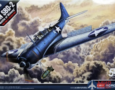 12335 Academy SBD-2 Dauntless Battle of Midway