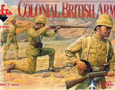 RB72003 Red Box Colonial British Army