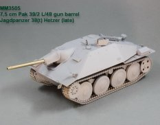 MM3505 Magic Models 1/35 7,5 см ствол Pak 39/2 L/48. Jagdpanzer 38(t) Hetzer (late). Academy