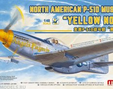 LS-009 Meng Model 1/48 North American P-51D Mustang `Yellow Nose`