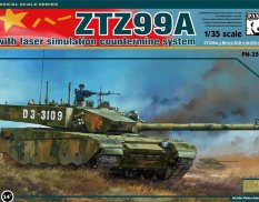 PH35029 Panda Hobby 1/35 ZTZ-99A with Laser Simulation Countermine System
