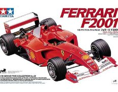 20052 Tamiya 1/20 Автомобиль Formula 1 Ferrari F2001 (Grand Prix Collection)