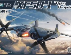 KН80135 Kitty Hawk Самолет XF5U 1/48