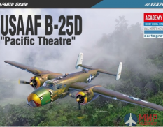 12328 Academy 1/48 B-25D Pacific Theatre