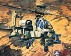 207210 Modelist 1/72 shock Helicopter AH-64A Apache