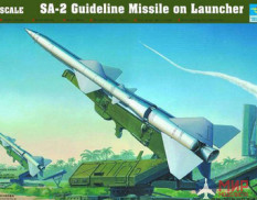 Trumpeter 00206 1/35 Launcher with missile s-75