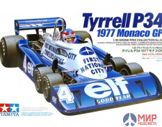 20053 Tamiya 1/20 Автомобиль Formula 1 Tyrrell P34 1977 Monaco GP (Grand Prix Collection)