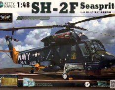 КН80122 Kitty Hawk Вертолет SH-2F Seasprite Kit First Look 1/48