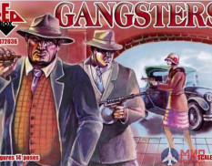 RB72036 Red Box 1/72 Gangsters