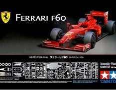 20059 Tamiya 1/20 Formula 1 Car Ferrari F 60 with a set of photo-etched parts (Grand Prix Collection)