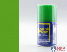 S064 Gunze Sangyo Paint in aerosol cans MR.HOBBY 100ml YELLOW GREEN