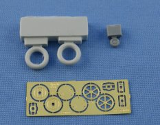 Ns72022 North Star Models Wheels 1/72 Wheels set for Gloster Gladiator Mk.II