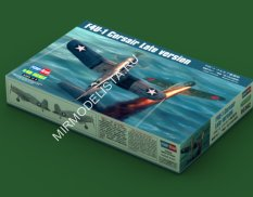 80382 Hobby Boss самолёт  F4U-1 Corsair Late Version  (1:48)