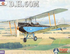 AMO4804 Amodel 1/48 Самолет de Havilland DH.60M Metal Moth