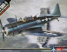 "12329 Academy самолет USN SBD-5 ""Battle of the Philippine Sea"" 1/48"
