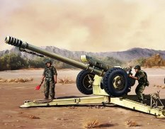 02328 Trumpeter 1/35 Пушка Soviet D30 122 mm Howitzer early