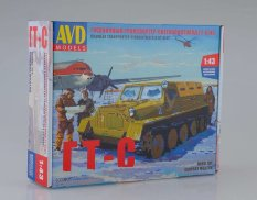 3003KIT AVD Models 1/43 Collection. mod. Gusenits. transp.-snow.bol.-course (GT-C)1954