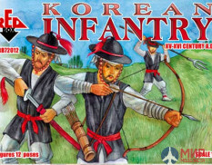 RB72012 Red Box 1/72 Korean Infantry