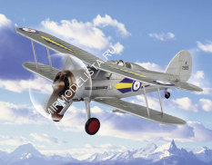 80289 Hobby Boss RAF Gloster Gladiator (Easy Assembly Authentic Kit) 1/72