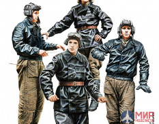 35254 Mini Art фигуры SOVIET TANK CREW for Flame Tanks & Heavy Tanks of Breakthrough (1:35)