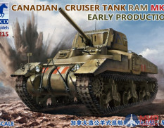 CB35215 Bronco Models 1/35 Canadian Cruiser Tank Ram MK.II Early Production