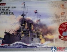 85001 EncoreModels 1/232 Protected cruiser USS Olympia premiun edition