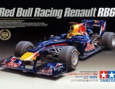 20067 Tamiya 1/20 Автомобиль Formula 1 Red Bull Racing RB6 (Grand Prix Collection)