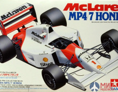 25171 Tamiya 1/20 Автомобиль Formula 1 McLaren Honda MP4/7 (Grand Prix Collection)