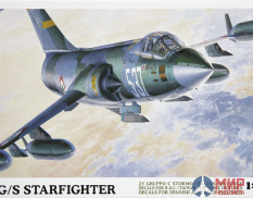 08061 Hasegawa Самолет Loсkheed F-104G/S World Starfighter 1/32