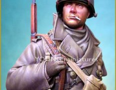 YM1812 Young Miniatures 1/10 US Soldier Ardennes 1944