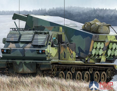 01048 Trumpeter M270/A1 Multiple Launch Rocket System - Norway