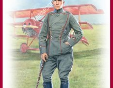 16032 MiniArt фигуры  THE RED BARON Manfred von Richthofen WWI FLYING ACE  (1:16)