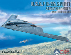 UA72206 Modelcollect USAF B-2A Spirit Stealth Bomber with Mop GBU-57