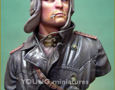 YM1823 Young Miniatures 1/10 Soviet Tank Commander 1944
