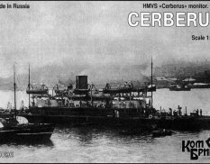 KB70096 Combrig 1/700 scale HMVS Cerberus Monitor, 1870