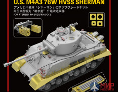 RM-2002 Rye Field Models 1/35 The Upgrade solution for 5028 & 5042 M4A3 Sherman