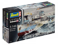 05132 Revell 1/144 Flower class corvette HMCS Snowberry