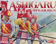 RB72007 Red Box 1/72 Ashigaru Spearmen