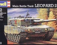 03103 Revell 1/72 Танк LEOPARD 2A4