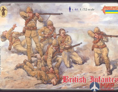 STR038 Strelets*R Фигуры British Infantry (1898-1902) (re-issue)